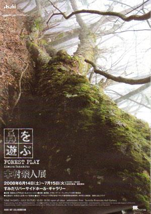 森を遊ぶポスター