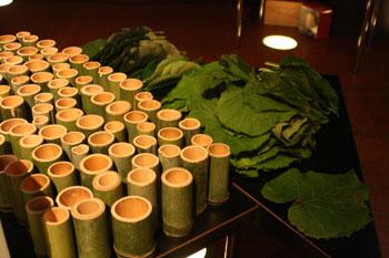 竹のコップ